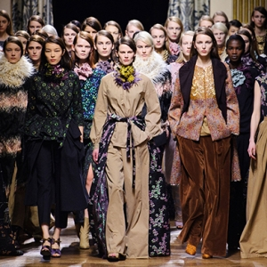Обзор Buro 24/7: Dries Van Noten, осень-зима 2015