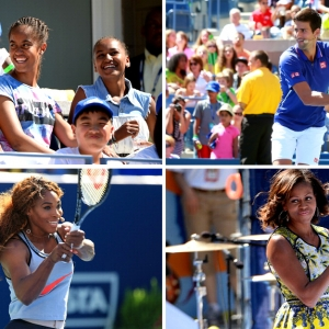 Мишель Обама на Arthur Ashe Kids' Day