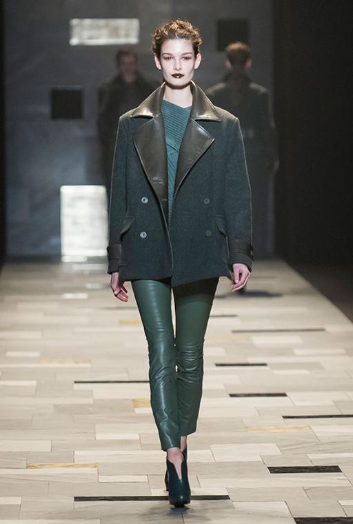 Trussardi fall/winter 2017 collection - milan fashion week
