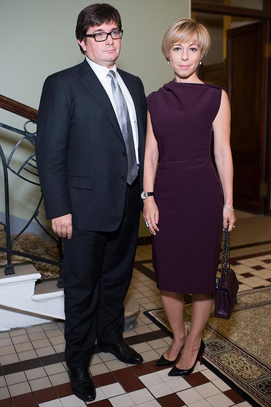 Василий Борисов и Марианна Максимовская