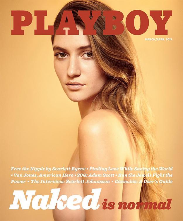 Make Playboy great again: наобложку известного журнала возвращается обнаженка