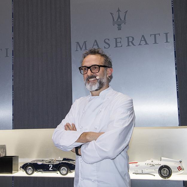 Maserati привезли на Женевский автосалон повара