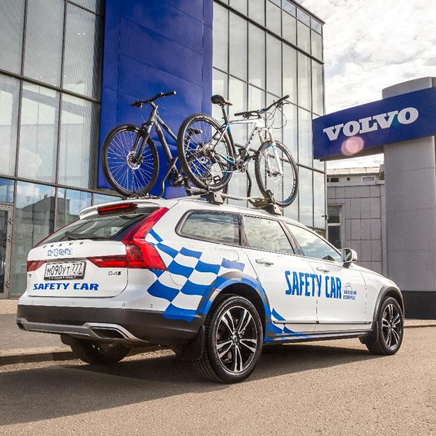 Volvo представит систему активной безопасности City Safety