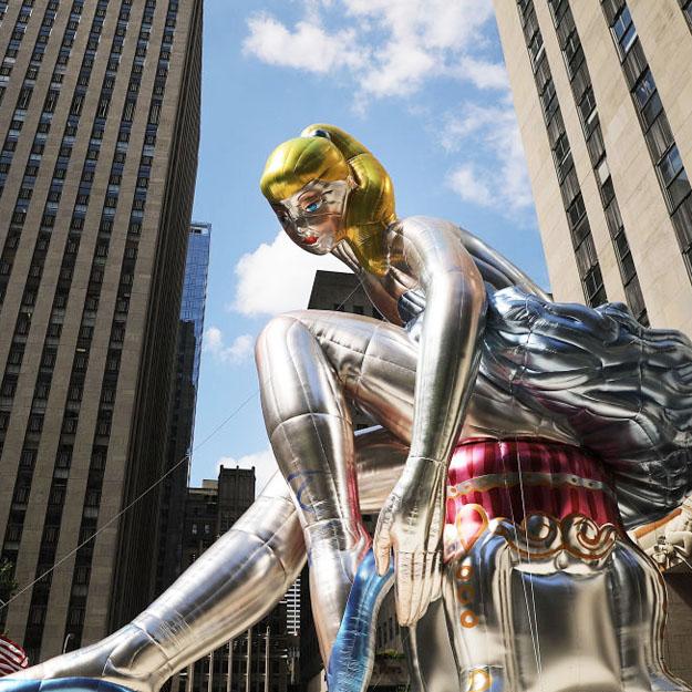 Вцентре Нью-Йорка появился немалый «плагиат» работы выпускницы одесского художественного училища