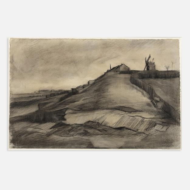 Найдены два неизвестных доэтого рисунка Ван Гога