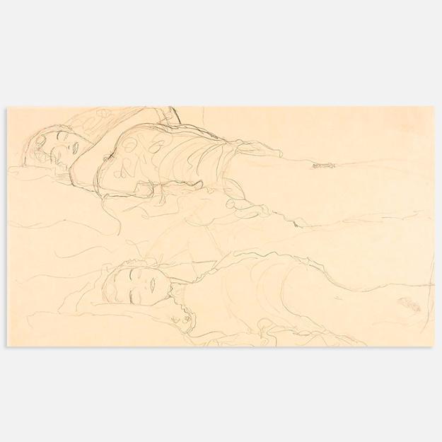 Найден пропавший рисунок Густава Климта
