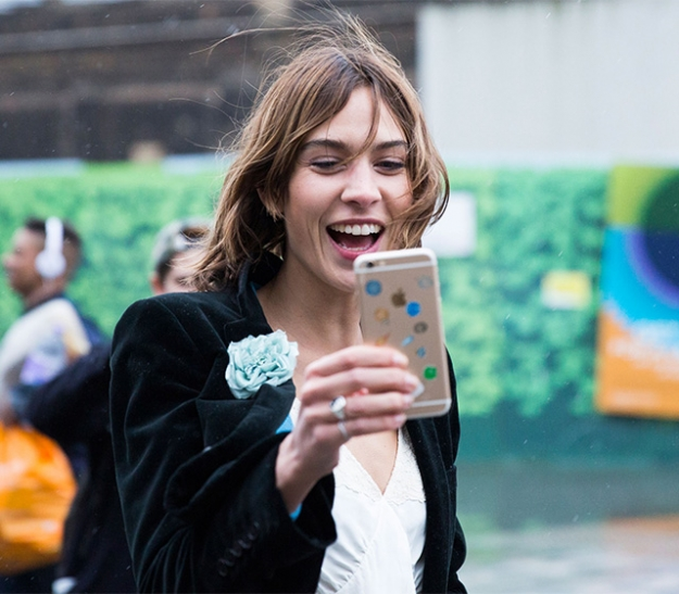 Неделя моды в Лондоне, осень-зима 2016: street style. Часть 1