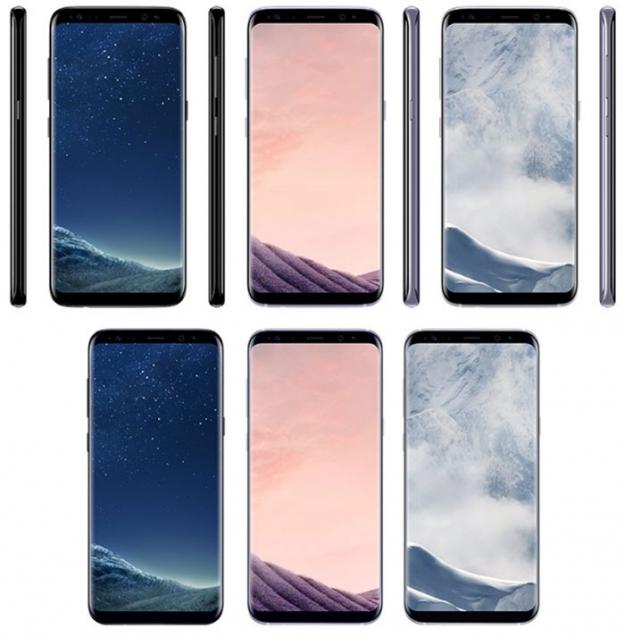 Samsung представил новые смартфоны Galaxy S8 и S8+