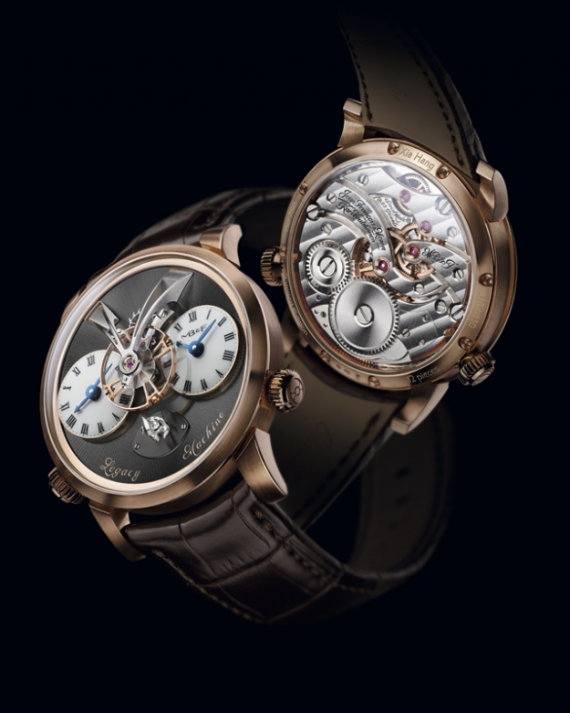 Новые часы Legacy Machine No.1 Xia Hang от MB&F
