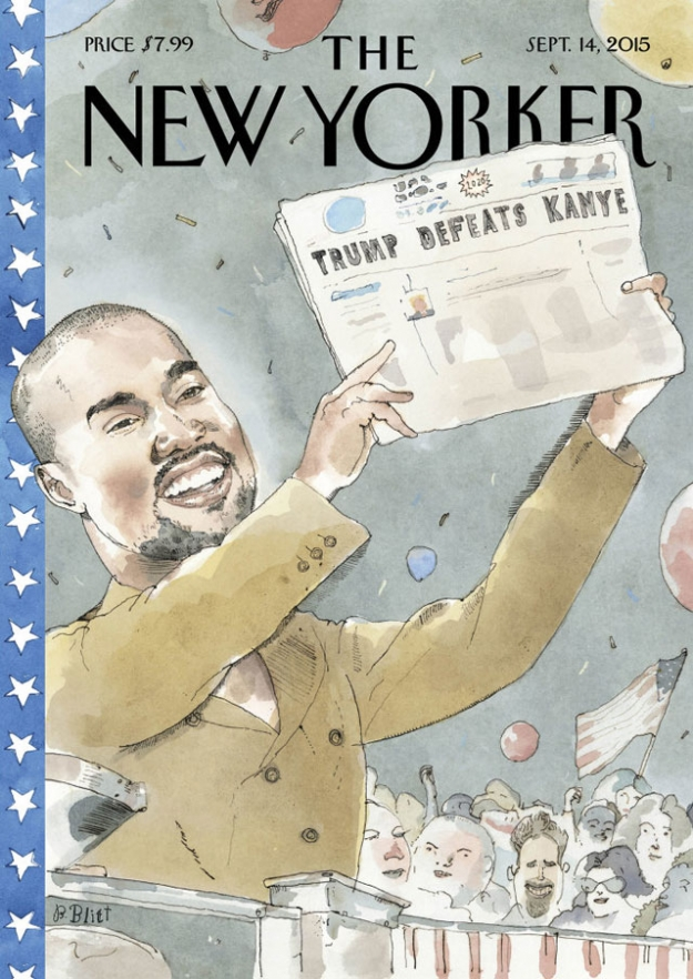 Канье Уэст на обложке The New Yorker