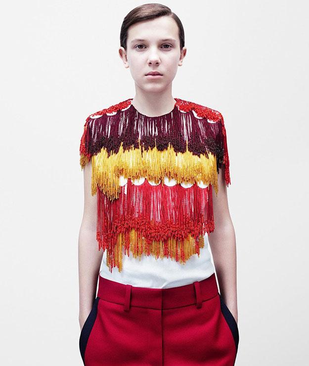 Раф Симонс показал свою первую коллекцию для Calvin Klein