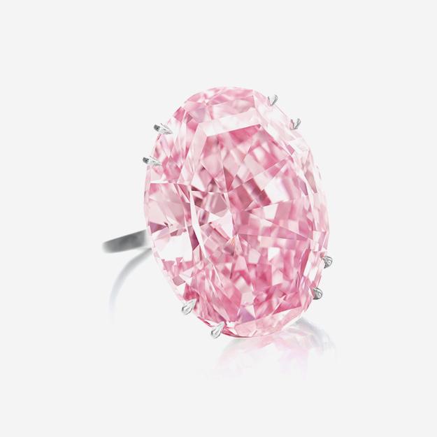 Sotheby's выставит на торги розовый бриллиант The Pink Star