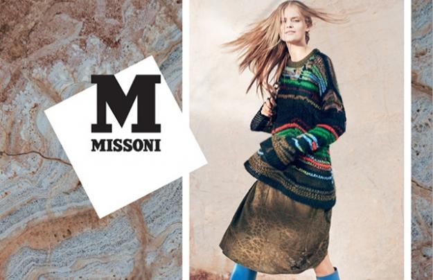 Рекламная кампания M Missoni, осень-зима 2014