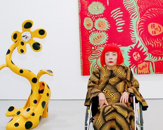 Яёи Кусама стала самой дорогой актуальной для нашего времени художницей