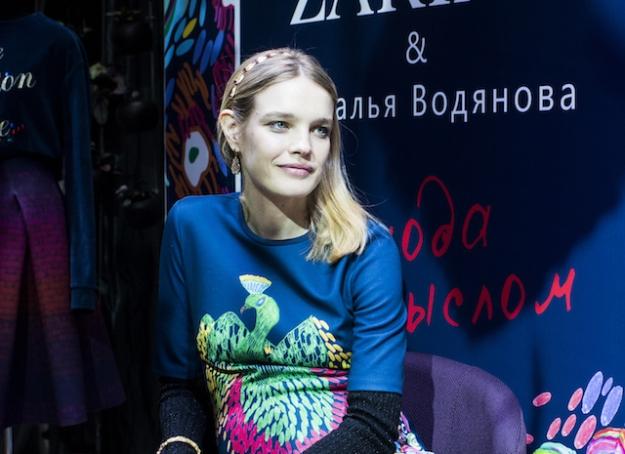 Наталья Водянова представила новую коллекцию Mini Me