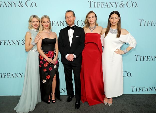 Гости гала-вечера от Tiffany & Co. в честь выхода Blue Book