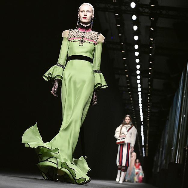 Gucci проведет показ новоиспеченной коллекции впалаццо Питти