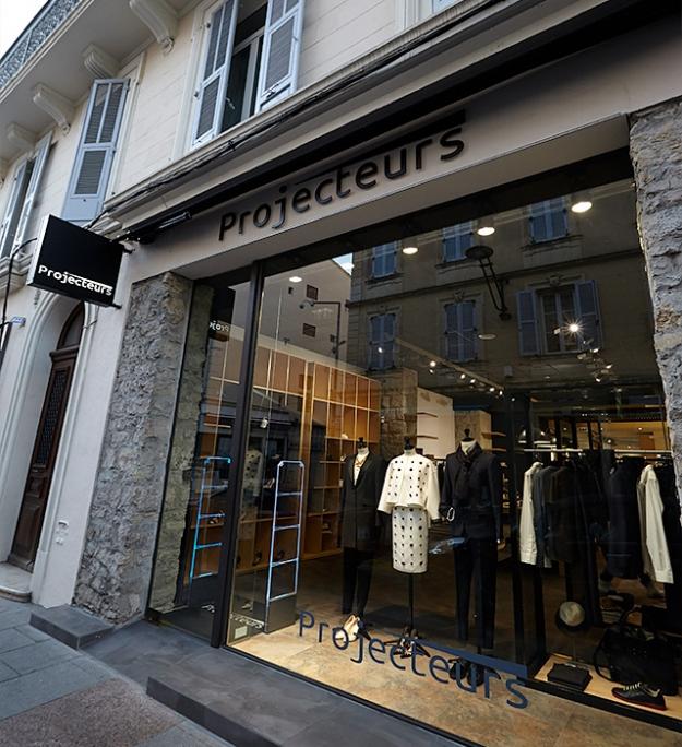В Каннах открылся концептуальный бутик Projecteurs