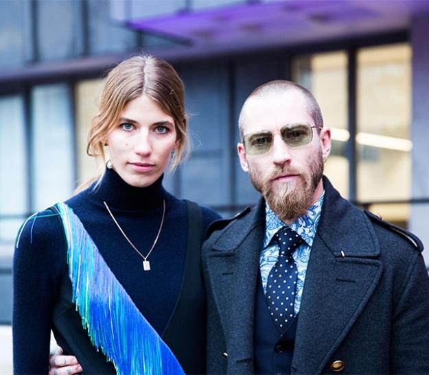 Неделя моды в Лондоне, осень-зима 2016: street style. Часть 2