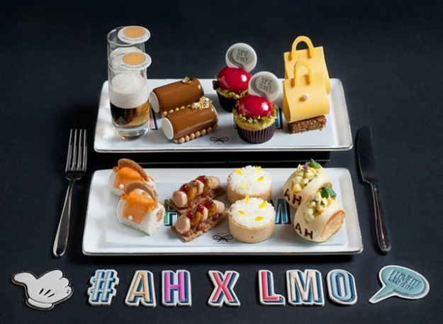 Коллаборация Anya Hindmarch и отеля The Landmark Mandarin Oriental в Гонконге