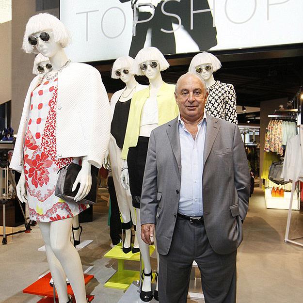 Владельца Topshop лишили титула за финансовые махинации