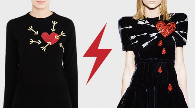 Голосование: пронзенные сердца Schiaparelli VS Carven