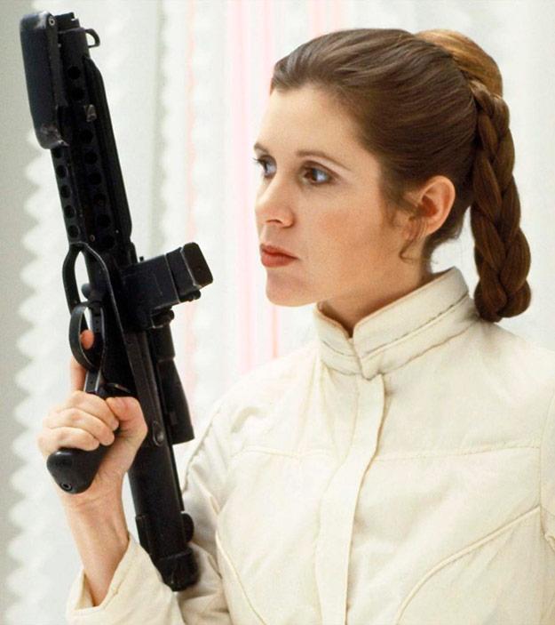 Кэрри Фишер успела сняться в восьмых «Звездных войнах»