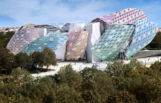 Fondation Louis Vuitton представил инсталляцию Даниэля Бюрена