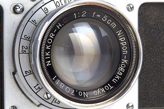 На аукцион выставлена старейшая из существующих камер Nikon