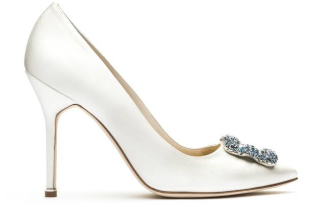 Маноло Бланик выпустит коллекцию свадебной обуви