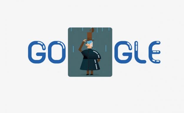 Google поместил на главную страницу Чарльза Макинтоша
