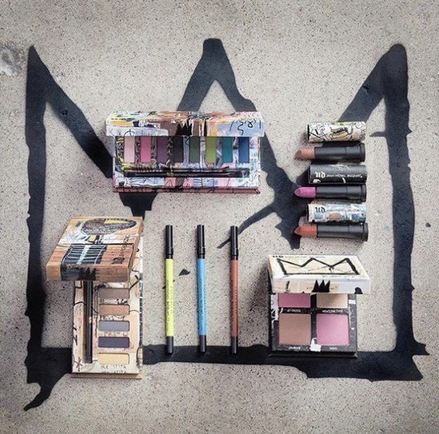 Urban Decay посвятили коллекцию творчеству Жан-Мишеля Баскии