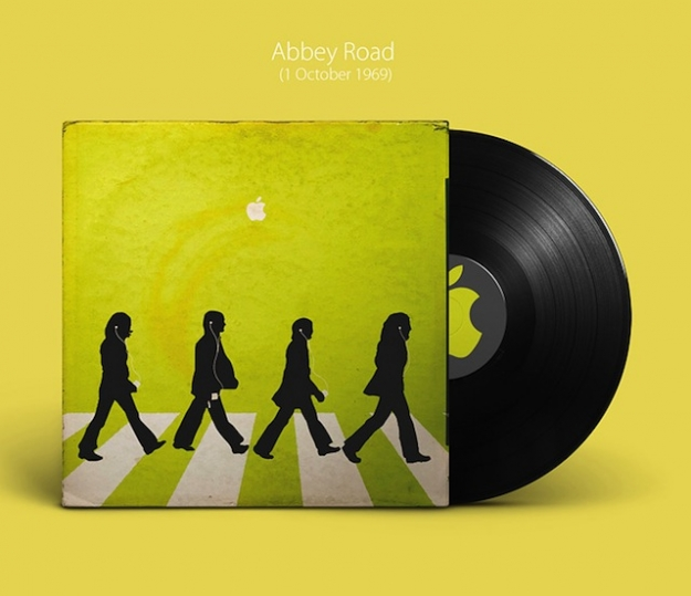 Альбомы The Beatles в дизайне Apple