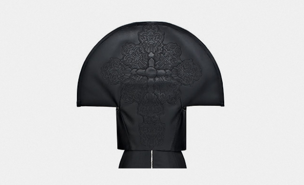 Коллаборация Gareth Pugh x Chrome Hearts