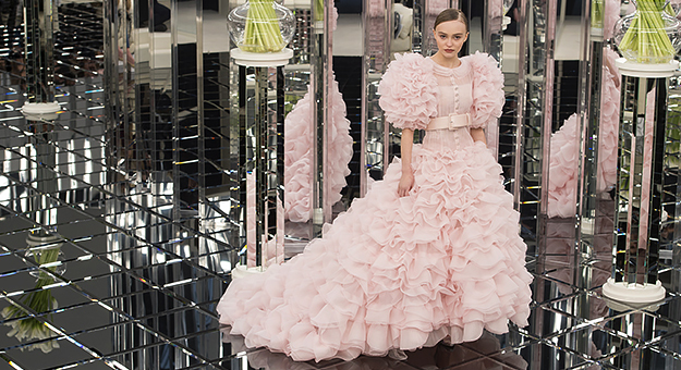 Обзор Buro 24/7: Chanel Couture, весна-лето 2017