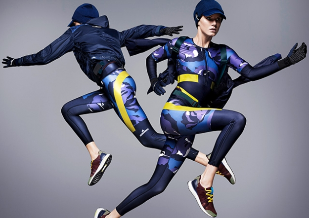 Лукбук коллекции adidas by Stella McCartney