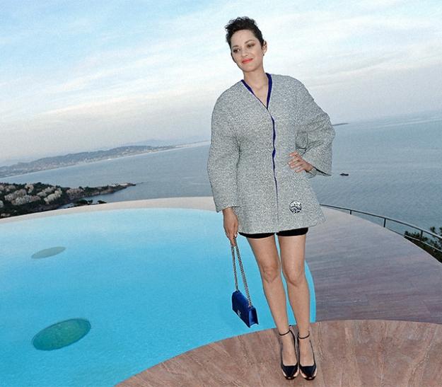 Эксклюзив Buro 24/7: Марион Котийяр о работе в Голливуде, жизни во Франции и платьях Dior
