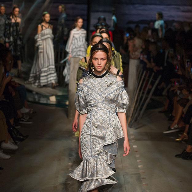 Лондонская неделя моды: Erdem, весна-лето 2017