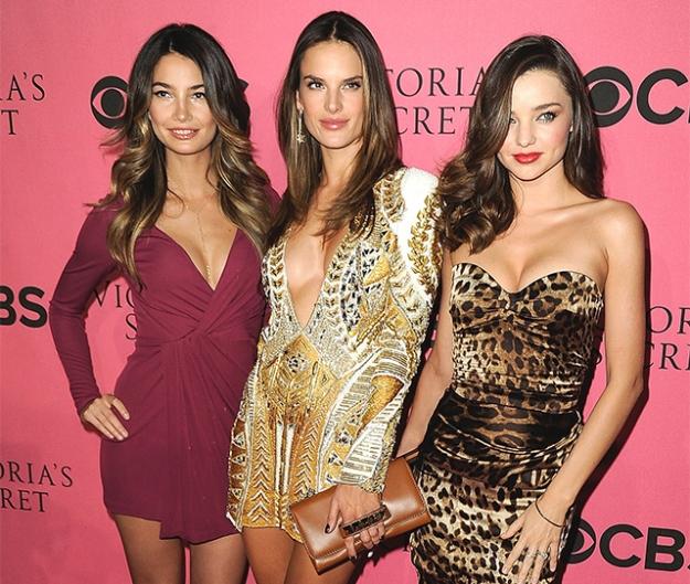 Гости показа Victoria's Secret в Нью-Йорке