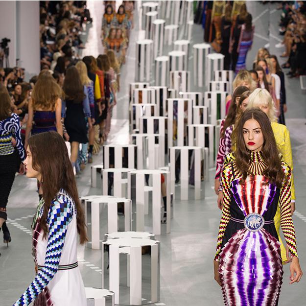 Лондонская неделя моды: Mary Katrantzou, весна-лето 2017