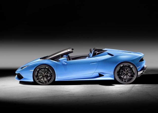 Lamborghini Huracan LP 610-4 Spyder: новая глава в истории атмосферного двигателя