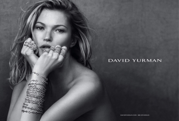 Кейт Мосс в рекламной кампании David Yurman