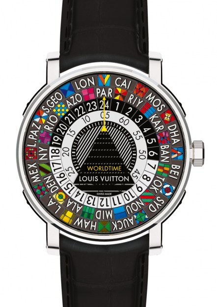 Baselworld 2014: мужские часы Escale Worldtime от Louis Vuitton