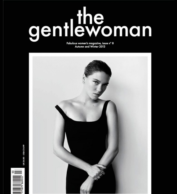 Леа Сейду на обложке The Gentlewoman