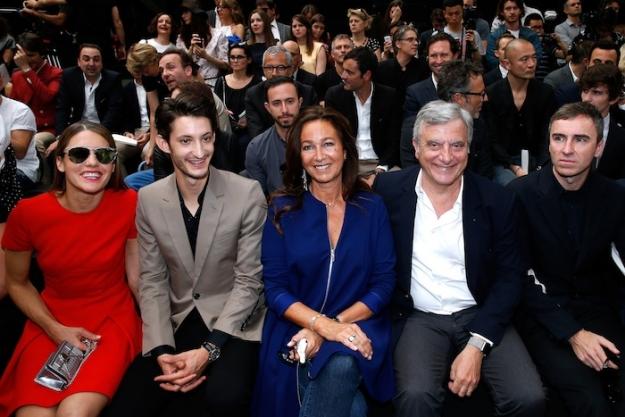 Гости показа Dior Homme, весна-лето 2016