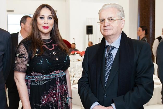 Торжественный прием в честь открытия выставки Захи Хадид