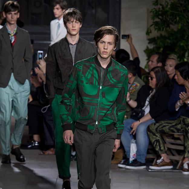 Обзор Buro 24/7: мужская коллекция Hermès, весна-лето 2016