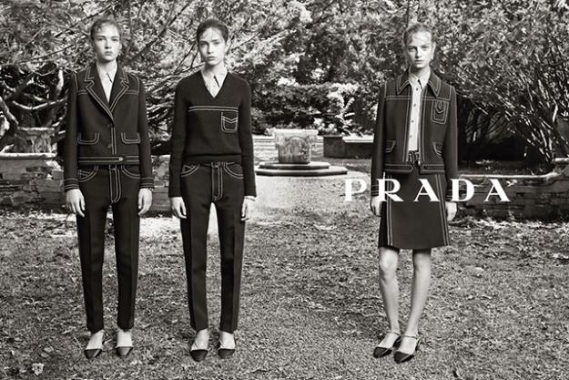Рекламная кампания Prada, resort 2015
