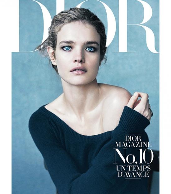 Наталья Водянова вновь украсила обложку Dior Magazine