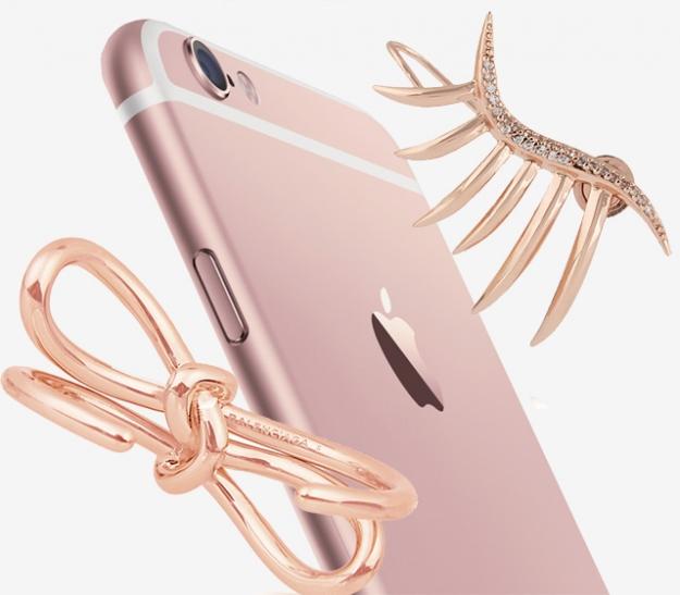 9 украшений из розового золота